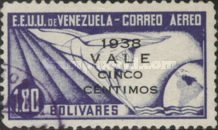 [Airmail - Postage Stamps Overprinted