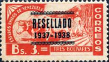 [Issues of 1937 Overprinted