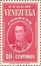 [Gathering Coffee Beans, Bolivar and General Post Office, Caracas, type HG1]