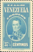 [Gathering Coffee Beans, Bolivar and General Post Office, Caracas, type HG4]