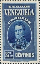 [Gathering Coffee Beans, Bolivar and General Post Office, Caracas, type HH2]