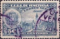 [Airmail - La Guaira, National Pantheon and Oil Wells, type HY10]