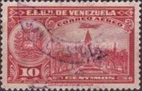 [Airmail - La Guaira, National Pantheon and Oil Wells, type HY6]