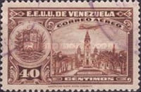 [Airmail - La Guaira, National Pantheon and Oil Wells, type HY7]