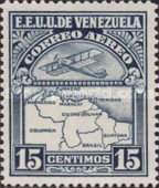 [Airmail - Airplane and Map, type JO3]