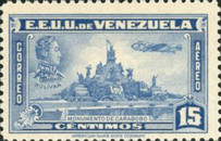 [Airmail - Independence Issue - Simon Bolivar and the Battle of Carabobo, type LC]