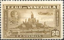 [Airmail - Independence Issue - Simon Bolivar and the Battle of Carabobo, type LC1]