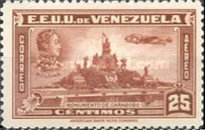 [Airmail - Independence Issue - Simon Bolivar and the Battle of Carabobo, type LC2]