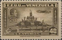 [Airmail - Independence Issue - Simon Bolivar and the Battle of Carabobo, type LC3]