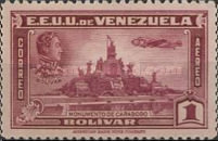[Airmail - Independence Issue - Simon Bolivar and the Battle of Carabobo, type LC4]