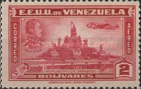 [Airmail - Independence Issue - Simon Bolivar and the Battle of Carabobo, type LC5]