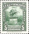[Airmail - The 110th Anniversary of the Death of Simon Bolivar, 1783-1830, type LT]