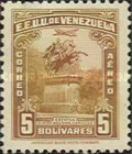 [The 110th Anniversary of the Death of Simon Bolivar, 1783-1830, type LT19]