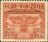 [Airmail - The 100th Anniversary of Arrival of Bolivar's Ashes at Caracas and Liberator's Monument Fund, type MS]