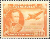 [Airmail - The 110th Anniversary of the Birth of General Antonio José de Sucre, 1795-1830, type PA]