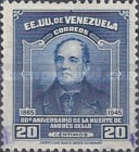 [The 80th Anniversary of the Death of Andres Bello, Educationalist, 1781-1865, type PK]