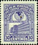 [Airmail - The 12th Pan-American Health Conference, Caracas, type PU2]