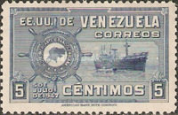 [The 1st Anniversary of Greater Colombia Merchant Marine - Freighter