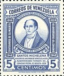 [The 110th Anniversary of the Death of Santos Michelena, 1797-1848, type SU]