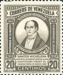 [The 110th Anniversary of the Death of Santos Michelena, 1797-1848, type SU2]