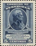 [The 200th Anniversary of the Birth of General Francisco de Miranda, 1750-1816, type TY]