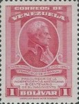 [The 200th Anniversary of the Birth of General Francisco de Miranda, 1750-1816, type TY3]