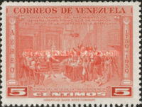 [Airmail - The 200th Anniversary of the Birth of General Francisco de Miranda, 1750-1816, type UC]