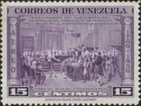[Airmail - The 200th Anniversary of the Birth of General Francisco de Miranda, 1750-1816, type UC2]