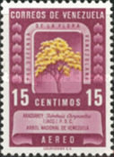 [Airmail - Protection of Flora - Tabebuia chrysantha, type UH2]