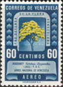 [Airmail - Protection of Flora - Tabebuia chrysantha, type UH6]