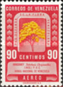 [Airmail - Protection of Flora - Tabebuia chrysantha, type UH7]