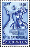 [The 450th Anniversary of Discovery of Lake Maracaibo, type VG]