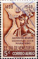 [Airmail - The 450th Anniversary of Discovery of Lake Maracaibo, type VG5]