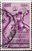 [Airmail - The 450th Anniversary of Discovery of Lake Maracaibo, type VG8]
