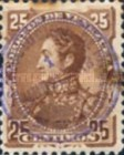 [Escuelas Issue of 1882 Handstamp Surcharged in Violet, type R2]