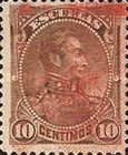 [Issue of 1892 Overprinted with Coat of Arms & 7 Stars, type S1]