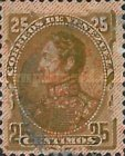 [Issue of 1892 Overprinted with Coat of Arms & 7 Stars, type S2]