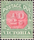 [Numeral Stamps - Rose Center, Typ A14]