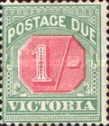 [Numeral Stamps - Rose Center, Typ A21]