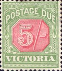 [Numeral Stamps - Rose Center, Typ A23]