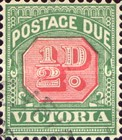 [Numeral Stamps - Red Center, Typ A24]