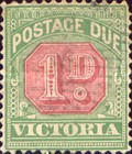 [Numeral Stamps - Red Center, Typ A25]