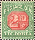 [Numeral Stamps - Red Center, Typ A26]