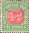 [Numeral Stamps - Red Center, Typ A27]