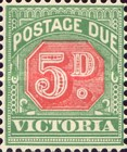 [Numeral Stamps - Red Center, Typ A28]