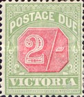 [Numeral Stamps - Red Center, Typ A30]