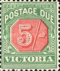 [Numeral Stamps - Red Center, Typ A31]