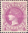 [Queen Victoria - Inscription: