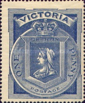 [Queen Victoria Charity Issue, type AV]