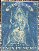[Queen Victoria on Throne, Typ G1]